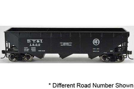 Detroit, Toledo & Ironton 70-Ton Offset Hopper #1627