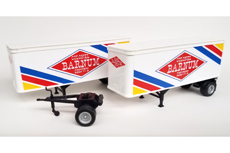 28' Smooth Side Trailer 2 Pack - Colonel Barnum Shows