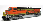 BNSF ES44C-4 #6662 (DC Version)