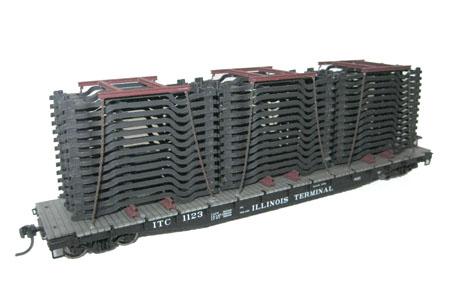 Auto Frame Load for Flatcar/Gondola (80 Frame Kit)