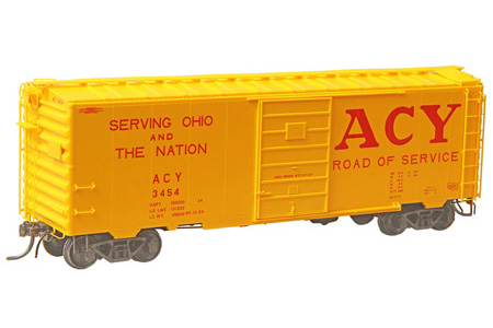 Akron, Canton & Youngstown 40' PS-1 Box Car #3454