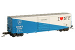 Delaware & Hudson (I♥NY) 50' PS-1 Box Car #50058