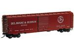 Delaware & Hudson 50' PS-1 Box Car #22164