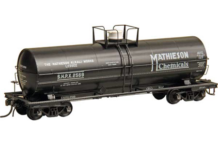 Mathieson Chemicals (SHPX) ACF 11,000 Gallon Insulated Tank Car #2569