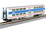 Chicago Metra Pullman Bi-Level 4-Window Coach #7836