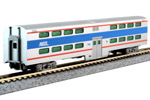 Chicago Metra Pullman Bi-Level 4-Window Coach #7848