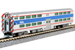 Chicago Metra Pullman Bi-Level Cab-Coach #8750