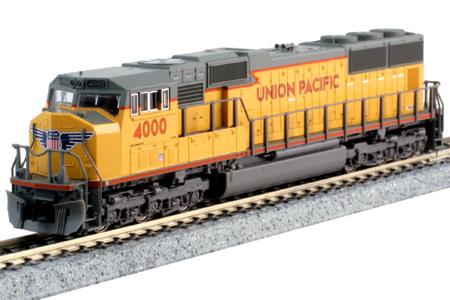 Union Pacific SD70M #4000 (DC Version)