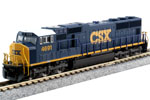 CSX SD70M #4691 (DC Version)