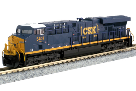 CSX ES44AC #5407 (DC Version)