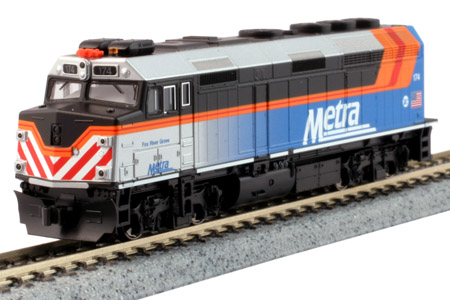 "Chicago Metra F40PH #174 ""Fox River Grove"" (DC Version)"