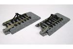 "Unitrack 2"" (50.5mm) Straight Track w/ Bumper (2 Pack)"