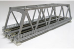 Unitrack Double Truss Bridge (Silver)