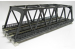 Unitrack Double Truss Bridge (Black)