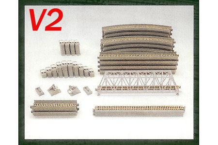 Unitrack V2 Single Track Viaduct Set