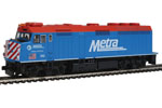 "Chicago Metra F40PH #160 ""Village of Winfield"" (DC Version)"