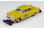 1955 Ford Mainline 4-Door Sedan - Hy-Rail Inspection Car
