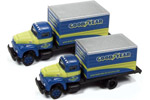 1953 International R-190 Box Truck 2 Pack - Goodyear Tires