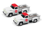 1954 Ford Pickup Truck 2 Pack - Coca Cola