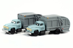 1954 Ford Garbage Truck 2 Pack - Oceanside Department of Public Works