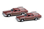 1974 Buick Estate Station Wagon 2 Pack (Burgundy)