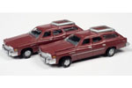 1976 Buick Estate Station Wagon 2 Pack (Independence Red Poly)