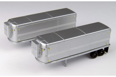 AeroVan Refrigerated Trailer 2 Pack - Unmarked
