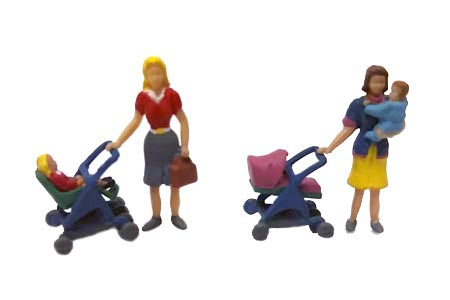 Mothers & Babies w/ Strollers