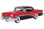 1955 Buick Century (Carlsbad Black/Cherokee Red)
