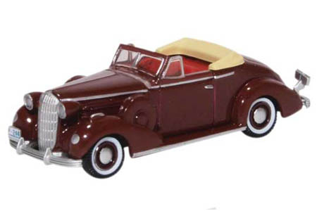 1936 Buick Special Convertible (Cardinal Maroon)