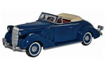 1936 Buick Special Convertible (Musketeer Blue)