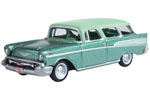 1957 Chevy Nomad Station Wagon (Surf Green/Highland Green)
