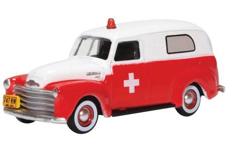 1950 Chevy Panel Van - Ambulance