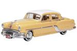 1954 Pontiac Chieftain 4-Door Sedan (Maize Yellow/Winter White)