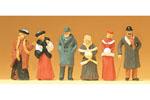 Circa 1900 - Bystanders in Winter Clothing #2