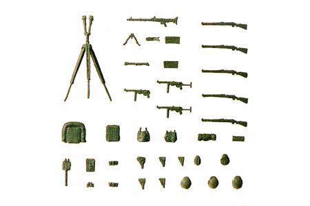 Assorted Weapons and Gear Set #1 (WWII)