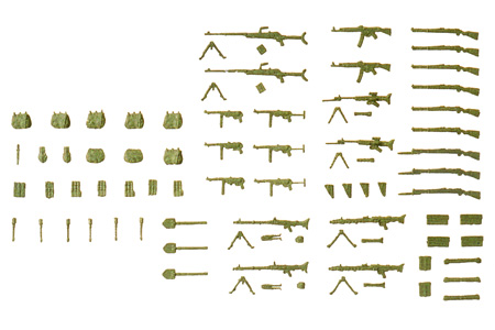Assorted Weapons and Gear Set #2 (WWII)