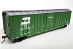Burlington Northern 50' Exterior-Post Plug Door Box Car #375776