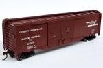 Illinois Central 50' Double Sliding Door Box Car #43669
