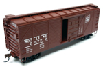 Soo Line 40' Single Sheathed Box Car #75658