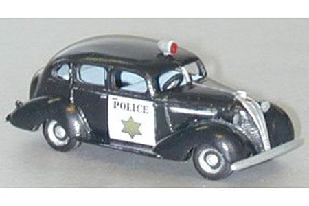 1937 Hudson Terraplane Police Patrol Car