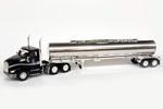 Kenworth T680 Day-Cab Tractor w/ Chemical Tank Trailer - Love's/Gemini (Black/Chrome)