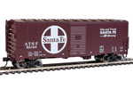 Santa Fe 40' AAR Modernized 1948 Box Car #35120