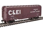 Chicago & Eastern Illinois 40' ACF Welded 8' Door Box Car #3315