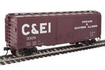Chicago & Eastern Illinois 40' ACF Welded 8' Door Box Car #3329