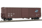 Chicago & North Western 50' Waffle-Side Box Car #160406