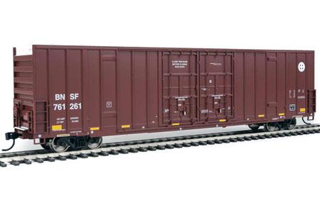 BNSF 60' High Cube Plate F Box Car #761261
