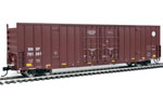BNSF 60' High Cube Plate F Box Car #761261