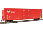Canadian Pacific 60' High Cube Plate F Box Car #218218