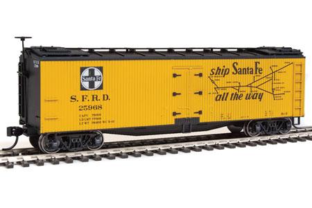 Santa Fe 40' Early Wood Reefer #25968